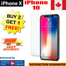 Premium Tempered Glass For Apple iPhone X iPhone 10 Screen Protector Clear