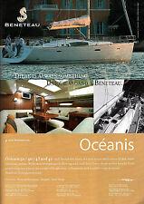 BENETEAU OCEANIS 50 . 46 . 43 . 40 Yacht ADVERT - 2007 Advertisement