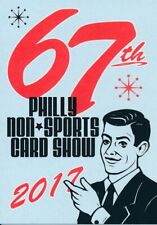 PHILLY NON-SPORT SHOW PROMO CARD 67TH OCTOBER 2017