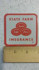 "State Farm Insurance Vintage Reflective Bumper Sticker Decal 2.75"""