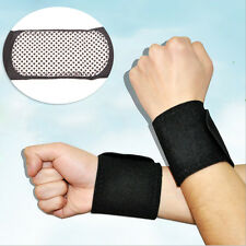 2X Tourmaline Self-Heating Wrist Band Far Infrared Magnetic Therapy Heating Pad