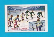 Hockey Ice Hockey Game Player Rud. Starcke Trade Card 1920's