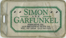 SIMON & GARFUNKEL 1982-83 Tour Luggage Tag Brill Building