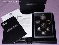 2013 ROYAL MINT UK PROOF COIN SET -  COMMEMORATIVE EDITION - 7 COINS