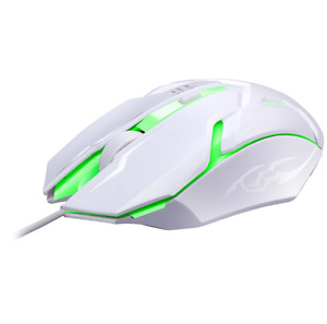 USB mouse LED Breathing Light backlit gaming mouse DPI third gear