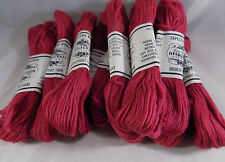 10 Vintage Elsa Williams Needlepoint Yarn Tapestry Wool N103 Rose