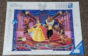 """Ravensburger """"Beauty and the Beast"""" Collector's Edition 1000 Piece Puzzle """"NEW"""""""