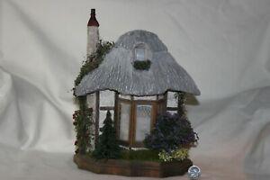 Miniature Dollhouse Bill Lankford Barbara Ann Meyer Thatched Cottage HALF Scale
