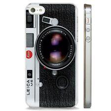 Vintage Leica Cámara Fotografía claro caso cubierta teléfono se ajusta iPHONE 5 7 8 X 6