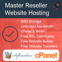 Master Reseller Hosting - SSD Space, Free SSL Certificates & Web Builder + More!