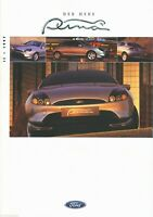 1 Ford Puma Prospekt 1997 II/97 7/97 D brochure prospectus catalogus catalogue