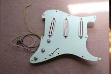 Fender Stratocaster Loaded Pickguard Seymour Duncan Hot Rails + Vintage Rails