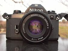 Nikon Series E lens 50/1.8 # 2386228 Sony A7r ll A6300 A7r A7 nex EM body free