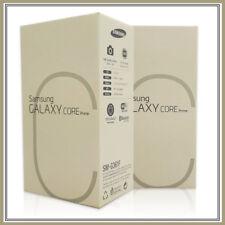 100% Genuine Samsung Galaxy Core Prime White Empty Box No Phone & Accessories