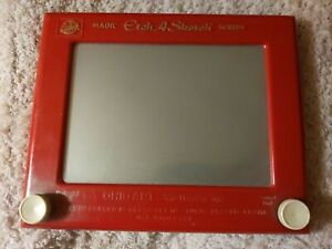 VINTAGE CLASSIC ETCH A SKETCH * Ohio Art * Magic Screen * 1980s Classic Toy