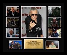New Stan Lee Signed Limited Edition Memorabilia Framed