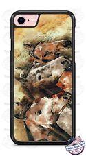 Horses Face Artwork Design Phone Case for iPhone Samsung LG Google etc