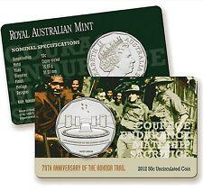 2012 Kokoda  Trail  70th Anniversary 50c Fifty Cent Royal Australian Mint Coin