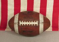 Vintage 1950s West Point Leather Football 1000 Harry Gilmer Model Redskins Lions