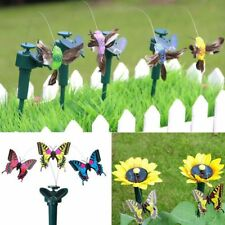 Solar Toys Butterfly Simulation Fake Battery Powered Garden Yard Children Gifts