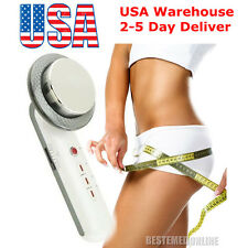 3in1 Ultrasonic Infrared Lights Facial Skin Slim Pain Therapy Beauty Waist [US ]
