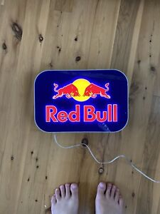 Red Bull Logo Lightbox Small —Electric Sign —WORKS