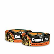 """New listing Gorilla Black Duct Tape 1.88"""" x 35 yd Black (Pack of 2) 2 Pack"""