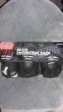 skate protection pack no fear knee,wrist elbow guards x-small age 7-10 years new