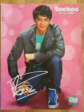Booboo Stewart, Jason Dolley, Double Sided Full Page Pinup, Boo Boo