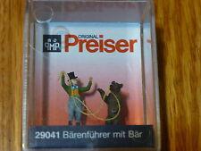 Preiser HO #29041 Working People -- Bear Trainer w/Bear (1:87 Scale)