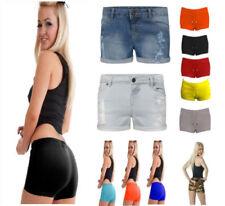 Denim Machine Washable Mini Shorts Size Shorts for Women