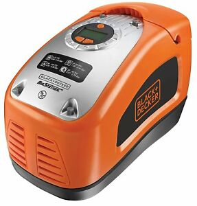 Black and Decker ASI300-QS Compresor de aire 160 PSI 11bar AC 230V y 12V Ligero