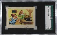 1939 Chocolat Menier Blanche-Neige et les Sept Nains #75 Dwarves Card k5c