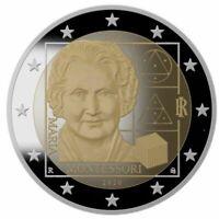 2 Euro Gedenkmünze Italien 2020  Maria Montessori  Proof PP