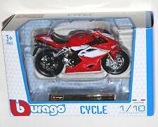 Burago - MV AGUSTA F4 RR 2012 Motorcycle Model Scale 1:18