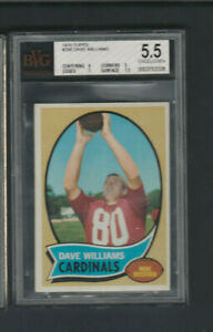 1970 Topps # 208 Dave Williams BVG 5.5