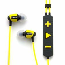 Klipsch Image S4i Rugged - Yellow All Weather In-Ear Headphones. Openbox New