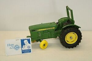 """John Deere Die-Cast Tractor - Traditional Green & Yellow 8"""" long x 5 1/2"""" tall"""