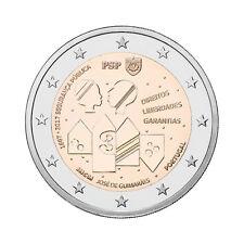 """Portugal 2 Euro commemorative coin 2017 """"Policia de Segurança Pública (PSP)"""" UNC"""