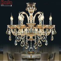 crystal chandelier Light Luxury Modern crystal Lamp chandelier Lighting champage