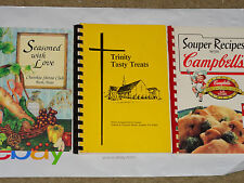Lot of 3 Cookbooks - 2 Regional (Texas & New Jersey) & Campbell's Soup Cookbook