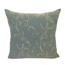 """Drapery/Acrylic Leaves 20""""x20"""" Mint Decorative/Throw Pillow Case/Cushion Cover"""