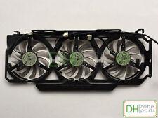 75mm 3 Fans for Video Card Gigabyte N456 GTX770 670 580 HD5870 T128010SU 0.35A