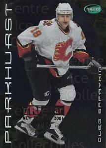 2001-02 Parkhurst Gold Tri-Star Redemption #65 Oleg Saprykin