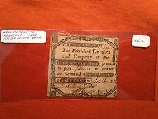 New Hamshire 1808 Amherst Hillsborough Bank 50 cent note