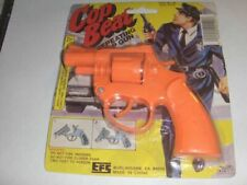 Toy Cowboy Gun Pistol Wild West Play Set Badge Belt and Holster