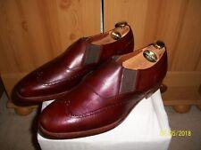 Vtg Church's Masterclass Shoes – Sz 11 (Brown) Tuczek Brogue Gusseted Loafer