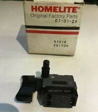 OEM Homelite Chainsaw Switch button part# 93014  Free Shipping