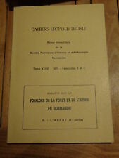 Folklore de la Forêt et de l'arbre en Normandie ARBRE 2 Cahiers Léopold Delisle