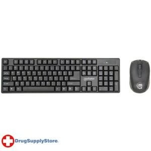 PE Wireless Keyboard & Optical Mouse Set